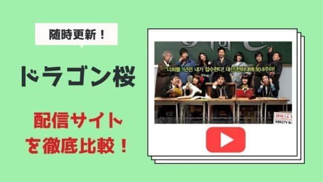 ドラゴン桜の動画配信サイトを比較!あらすじキャスト感想