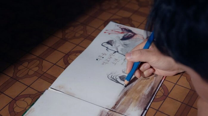 ムンサンテの絵もジャムサン