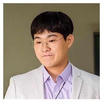 パク・ドンチョン役はキム・ミンソク(1992)