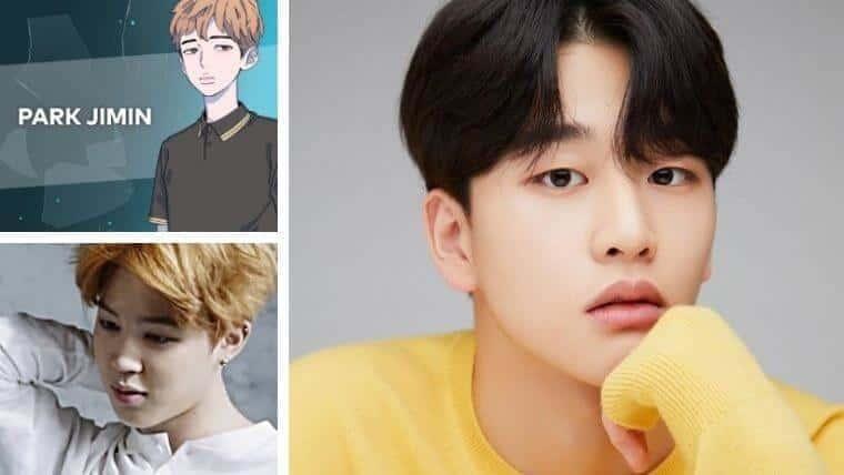 JIMIN(パク・ジミン)役はキム・ユンウ