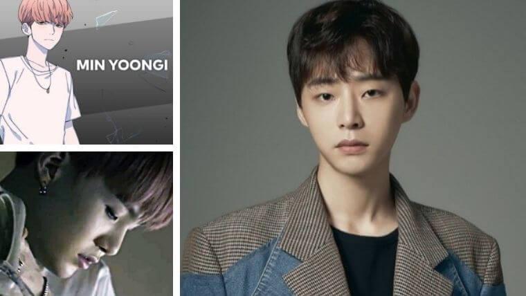 SUGA(ミン・ユンギ)役はノ・ジョンヒョン