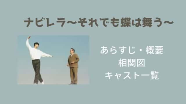 【ナビレラ】キャスト一覧と相関図・あらすじ・OST・カメオ出演も