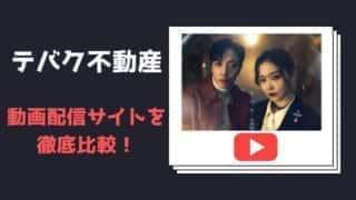 最新!【テバク不動産】の動画視聴!無料で日本語字幕を配信しているのは?